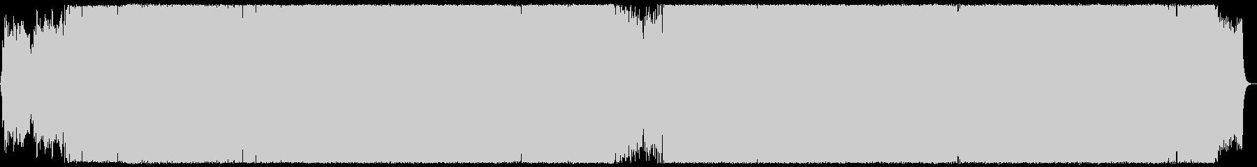 アニソン風の軽快なJPopの未再生の波形