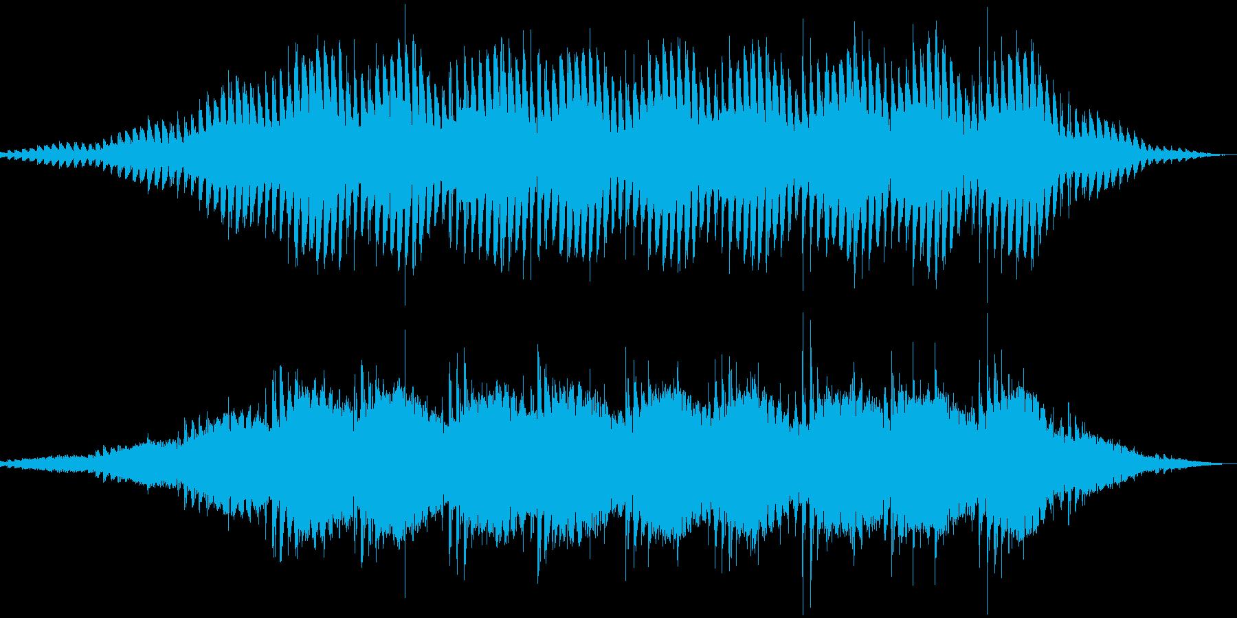 【ゲーム】不穏な空気に合う音の再生済みの波形