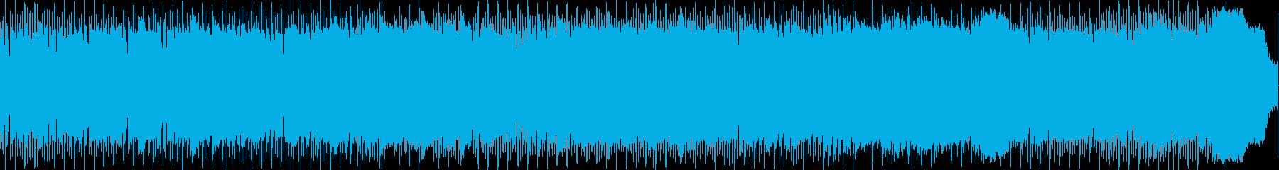素敵な抽象的なジャムヒムニックギタ...の再生済みの波形