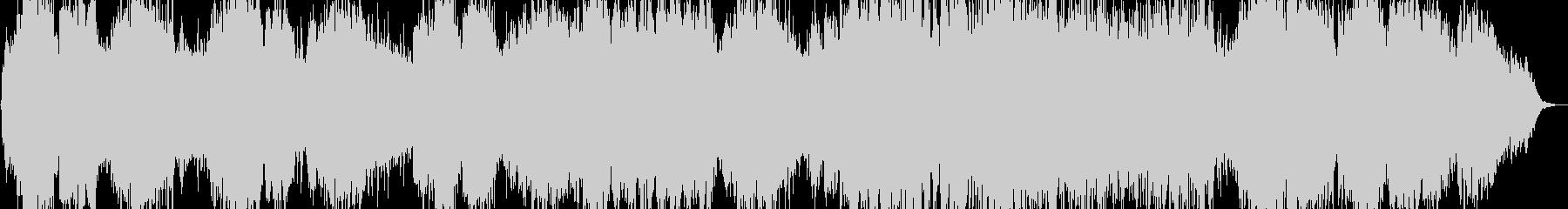 優しい笛のヒーリング音楽の未再生の波形
