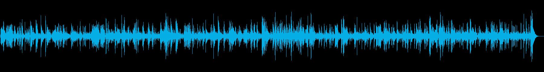 JAZZ|キラキラ おしゃれ|映像・店舗の再生済みの波形