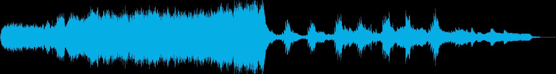 壮大なオーケストラと切ないフルートソロの再生済みの波形