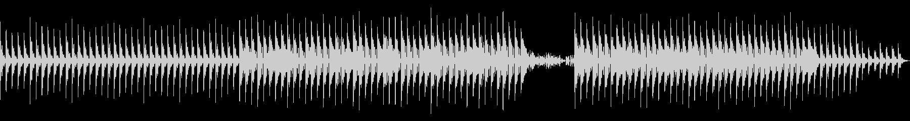 bpm128ドラムなしバージョンの未再生の波形