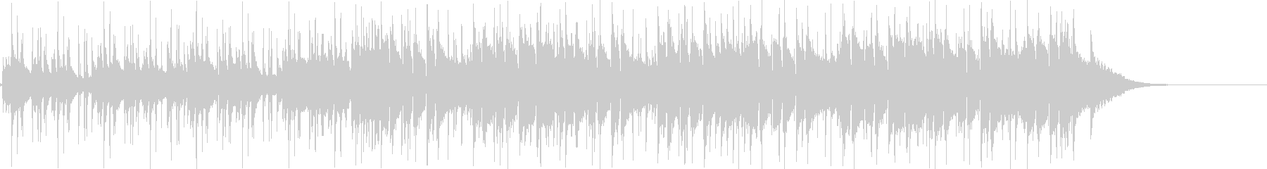 Pf「小田原」和風現代ジャズの未再生の波形
