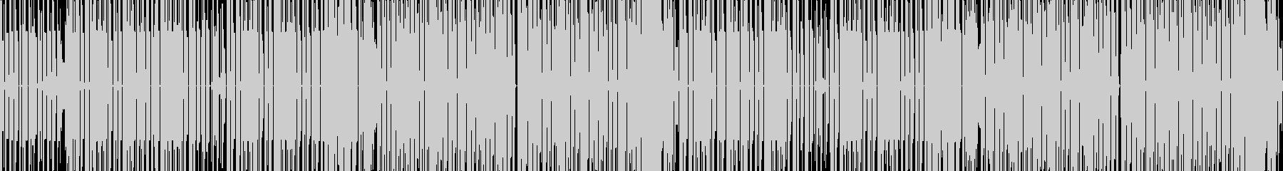 楽しいチップチューン 番組オープニングにの未再生の波形
