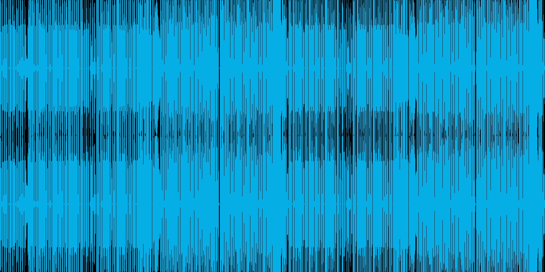 楽しいチップチューン 番組オープニングにの再生済みの波形