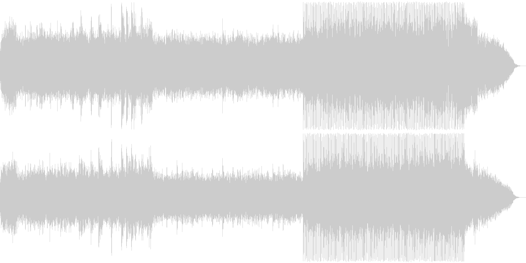 感動表現、CM,ブライダル、フルverの未再生の波形