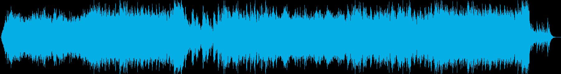 異国風OP合うシネマティックサウンドの再生済みの波形