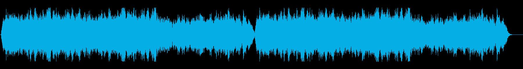 【プロ制作】ストリングス・オーケストラ曲の再生済みの波形
