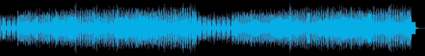 リズム抜】ガイコツの行進、軽快ハロウィンの再生済みの波形