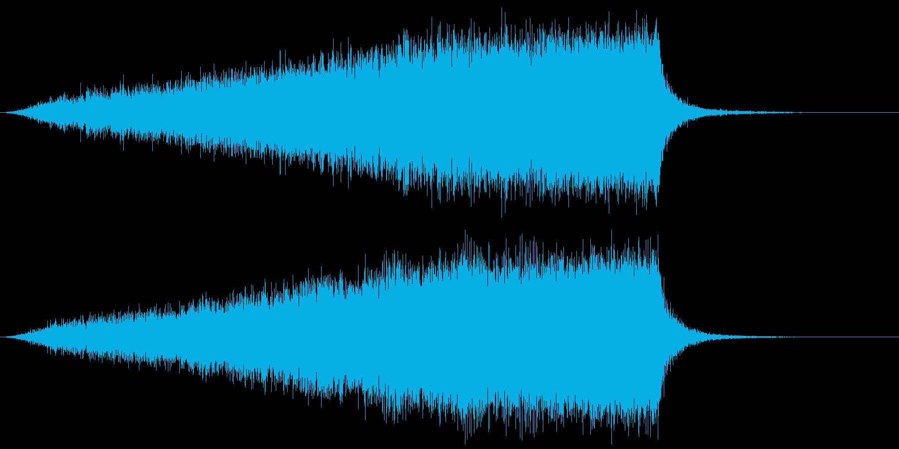 【ライザー】09 SFサウンド 宇宙の再生済みの波形