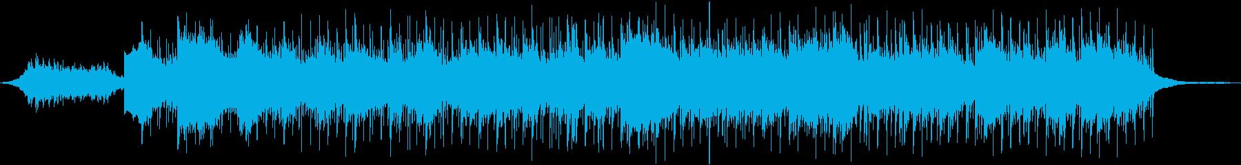 動画 アクション 技術的な クール...の再生済みの波形