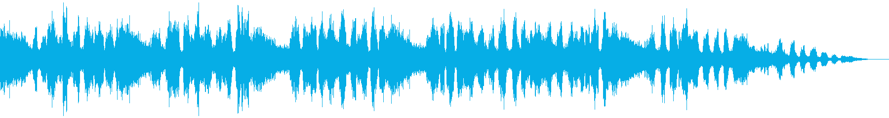みんみん蟬の環境音です。の再生済みの波形
