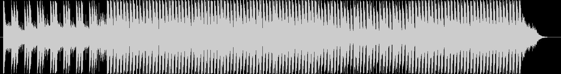 ポップなピアノダンス 商品説明 起承転結の未再生の波形