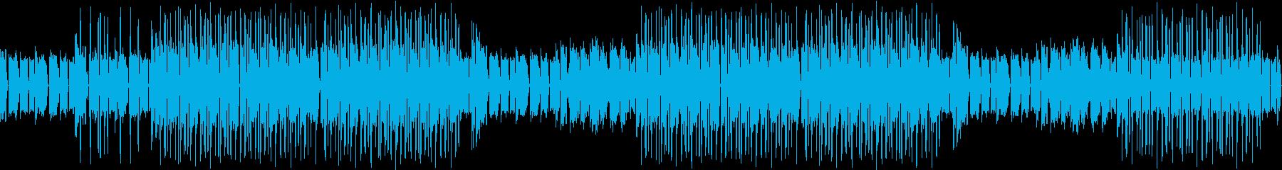 ピアノ・お洒落・散歩・デート・明るいの再生済みの波形