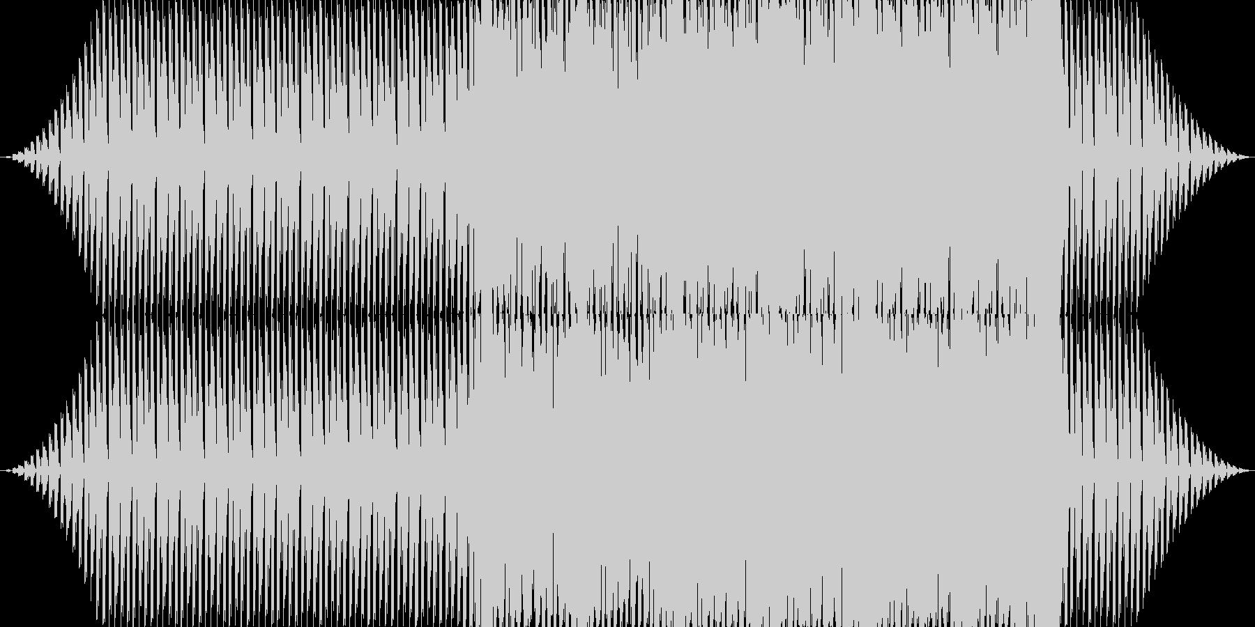 怪しい雰囲気のテクノ。の未再生の波形