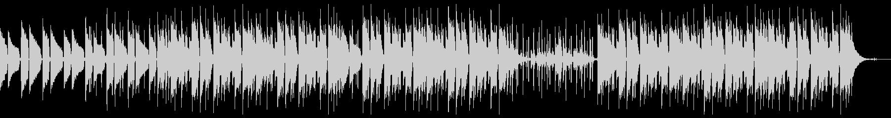 ローファイチルホップ ネオソウルギターの未再生の波形
