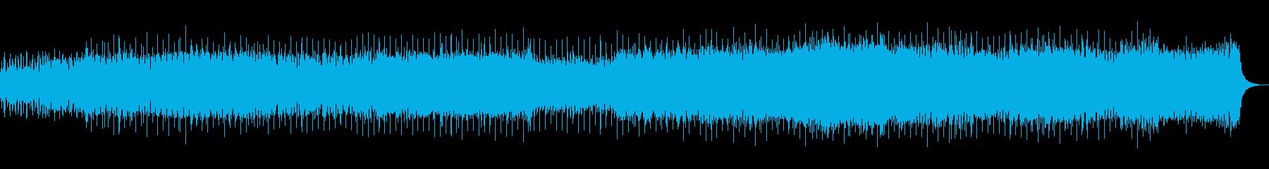 感動的で切ないトランスの再生済みの波形