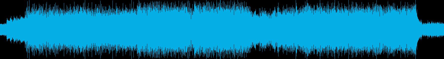 SFチックなボス戦BGM(ループ可)の再生済みの波形