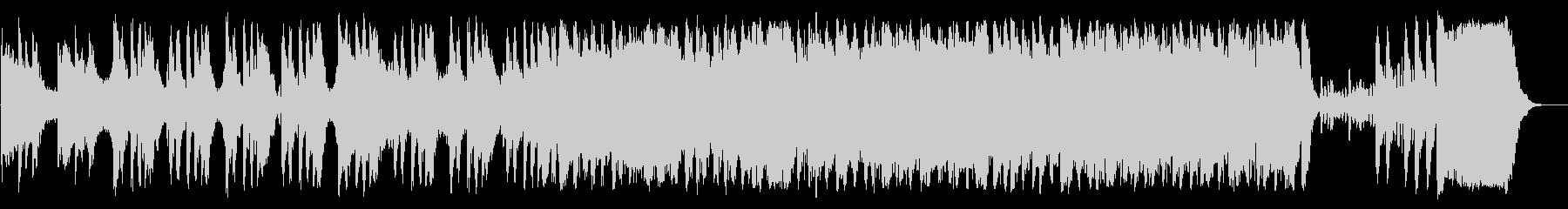 ゲームのオープニングに合うオーケストラの未再生の波形
