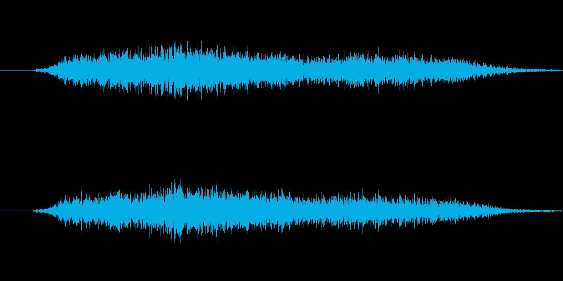 (コーラス)の再生済みの波形