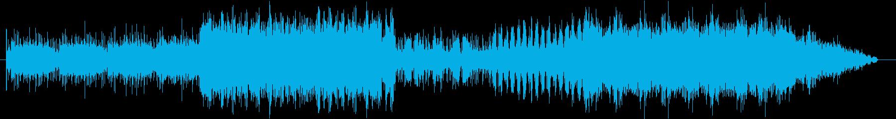 メルヘンチックなEDMの再生済みの波形