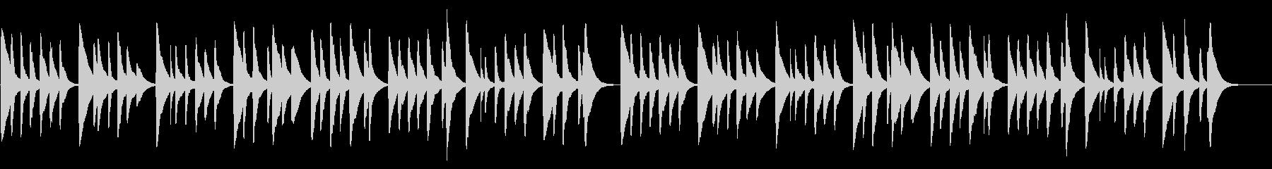 妹背をちぎる 18弁オルゴール の未再生の波形