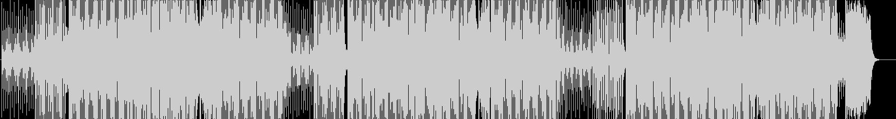 メロディが面白いダンス楽曲の未再生の波形