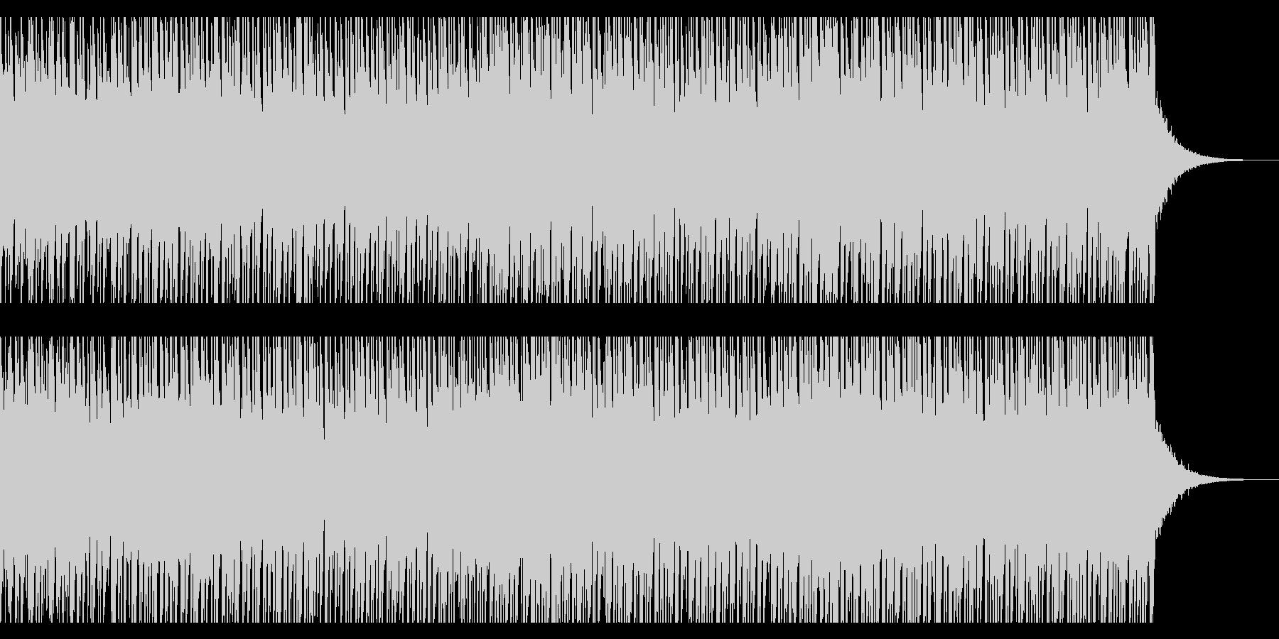 サニーサマー(60秒)の未再生の波形