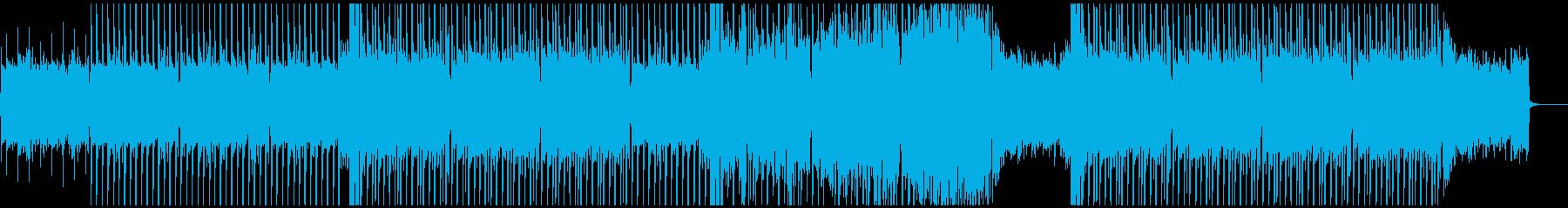 上がる!パワフルな和風デジタルロックの再生済みの波形