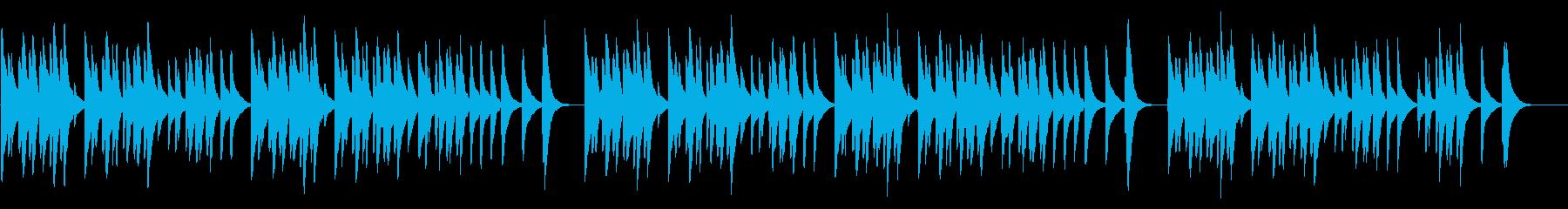 あめふり 18弁オルゴールの再生済みの波形