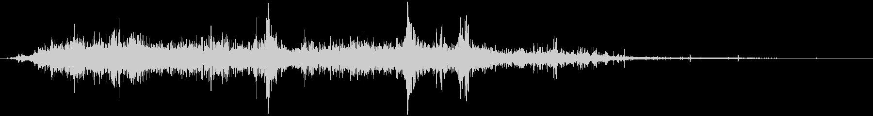 【環境音】 42 水 / スプラッシュの未再生の波形