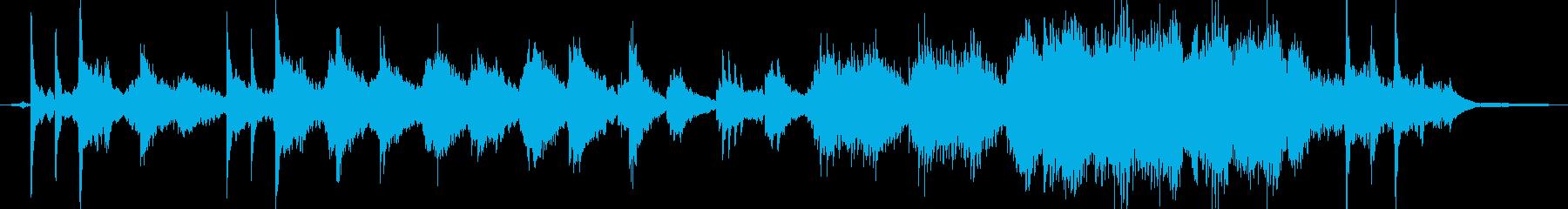 クールで切ないピアノソロの再生済みの波形