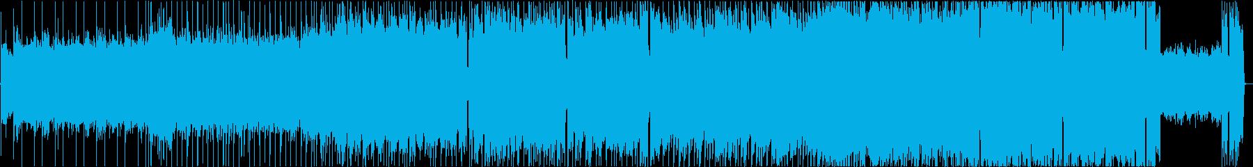 ヘヴィでありつつも光差すハードロックの再生済みの波形