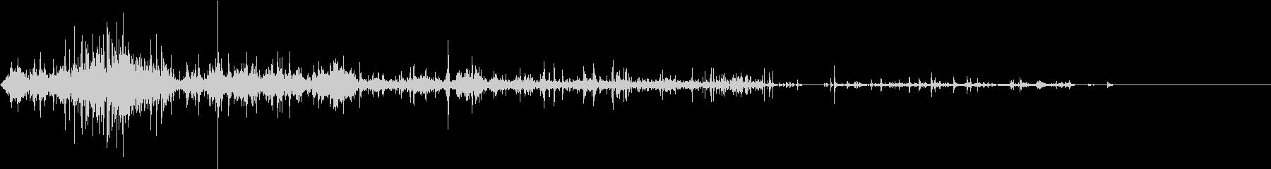 【生録音】ゴミの音 7 握りつぶすの未再生の波形