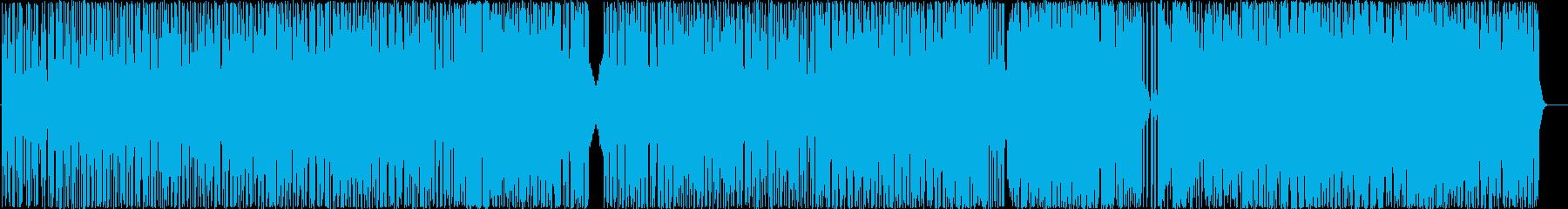 ニューエイジ、スムースジャズ、ピア...の再生済みの波形