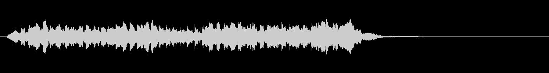 大人な雰囲気のある3拍子オシャレピアノの未再生の波形