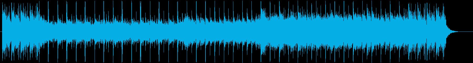 バクパイプが印象的で爽やかなポップバンドの再生済みの波形