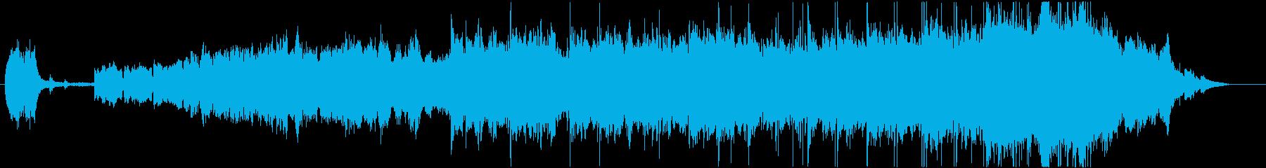 深々と流れるオーケストラサイレントナイトの再生済みの波形