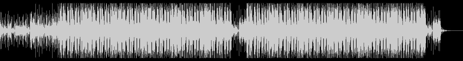 ほのぼのしたエレクトロポップスの未再生の波形