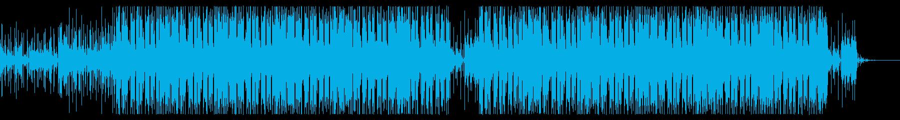 ほのぼのしたエレクトロポップスの再生済みの波形