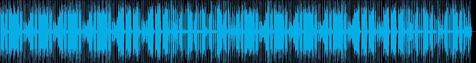 あたふたとしたBGMの再生済みの波形