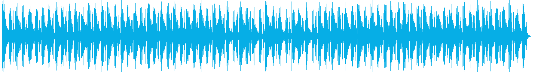 疾走感とワクワク感シンセサイザーテクノの再生済みの波形