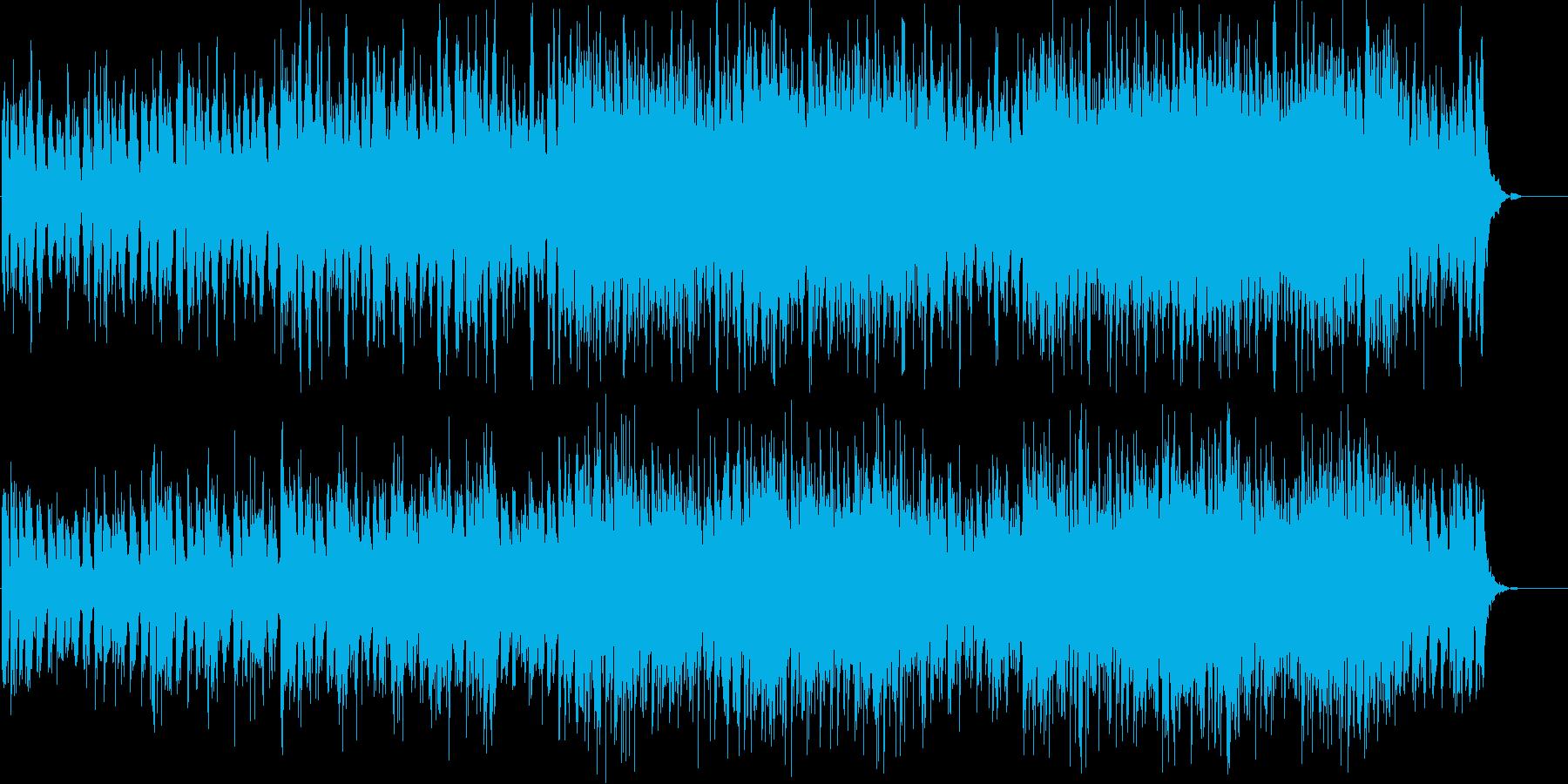暗く緊迫感のあるシンセアンビエントの再生済みの波形