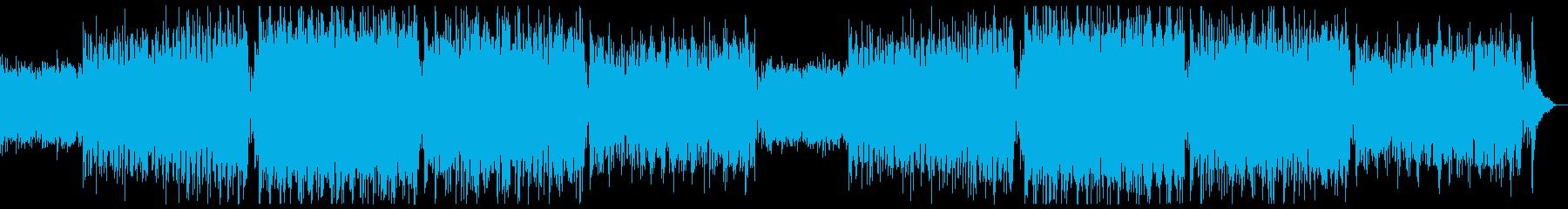 ハリウッド風ダークバイオリンx2回の再生済みの波形