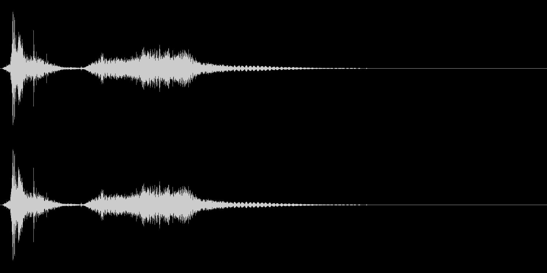 刃物/刀・剣/シャキーン/武器/抜刀の未再生の波形