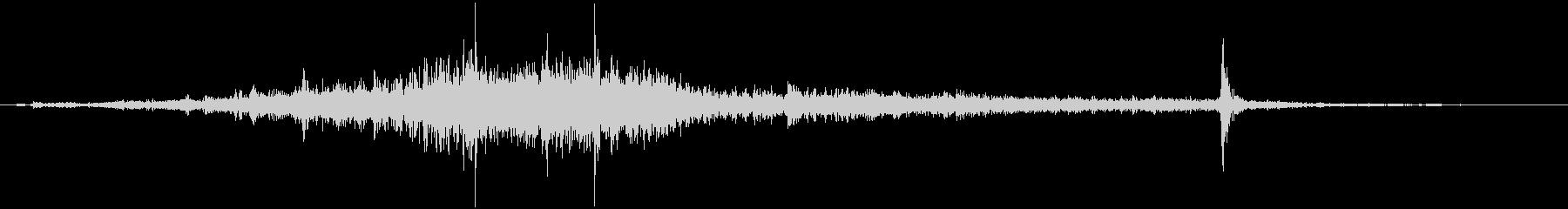 ベネチアンブラインド:下部閉鎖ベネ...の未再生の波形