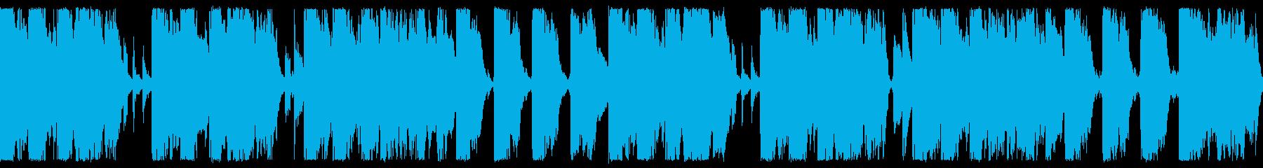 かわいいジングルの再生済みの波形