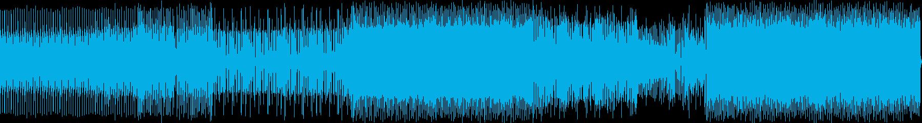 ファンキーで少し神秘的なミュージックの再生済みの波形