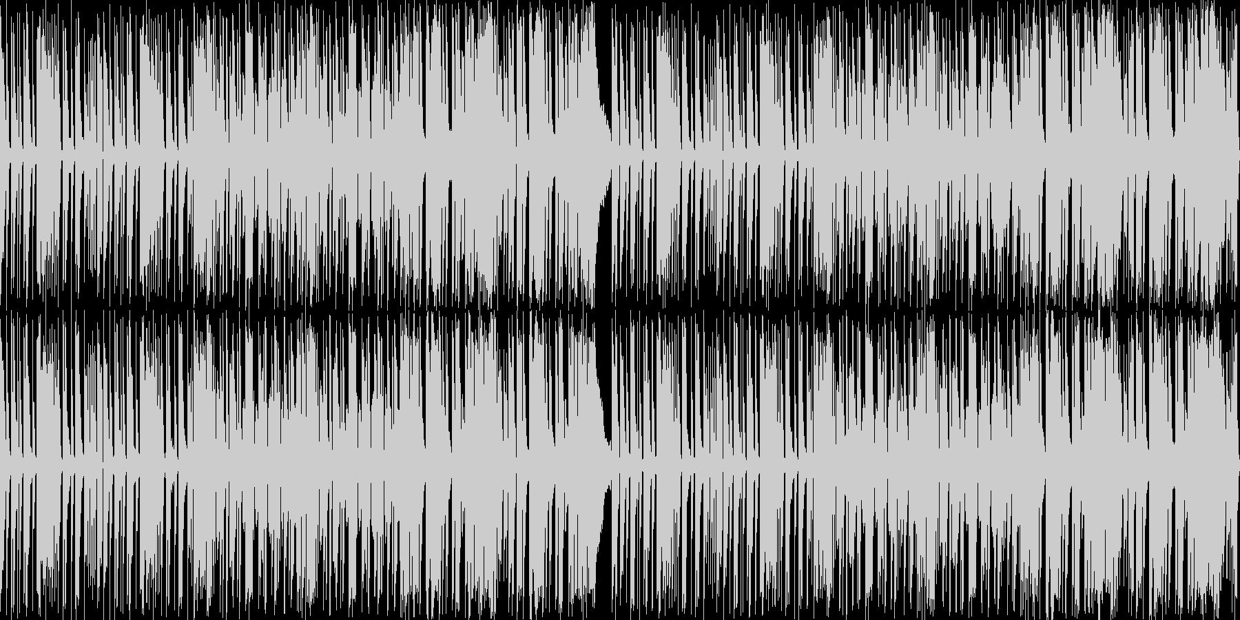 シンセ、ピアノ、電子パーカッション。ア…の未再生の波形